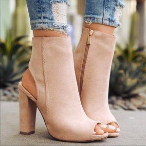 👠Tan Sexy Peep Toe Pumps 👠